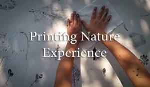 Printing Nature Experience